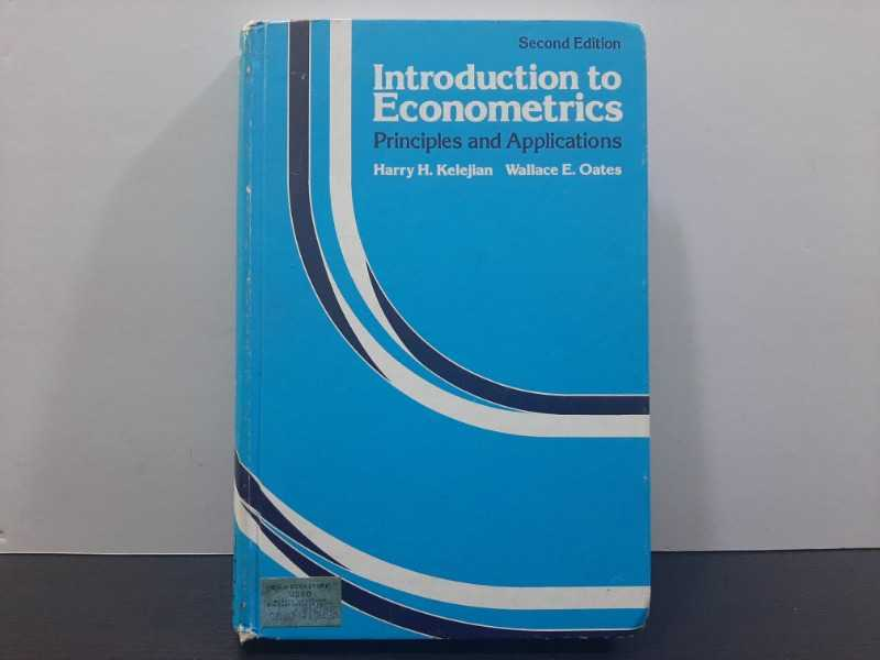 Introduction to Econometrics ..Principles and Applications