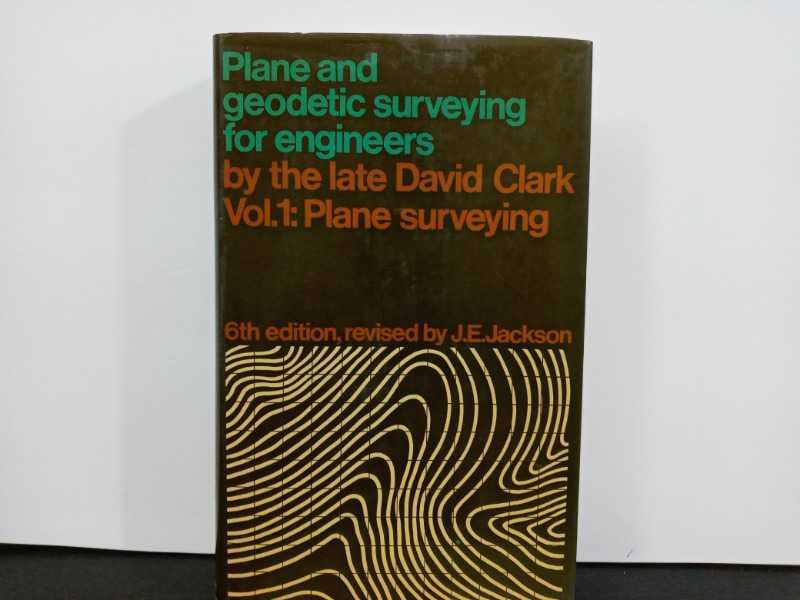 Plane and geodetic surveying for engineers